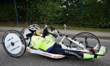 Claire Lomas Begins 400-mile Hand-cycle Challenge 43005