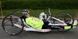 Claire Lomas Begins 400-mile Hand-cycle Challenge 43018