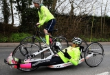 Claire Lomas Begins 400-mile Hand-cycle Challenge 43023