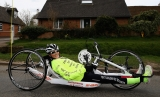 Claire Lomas Begins 400-mile Hand-cycle Challenge 43032