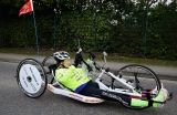 Claire Lomas Begins 400-mile Hand-cycle Challenge 43040