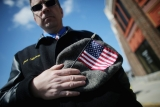 Funeral for Boston Marathon Bombing Victim 43155