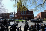 Funeral for Boston Marathon Bombing Victim 43180