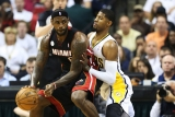 Heat vs. Pacers score update, Game 3: Miami jumps out to 70-56 halftime lead 43358