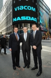 Viacom Rings the Stock Market Opening Bell  43525