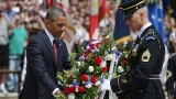 Obama Honors Fallen Troops, Looks to the War's End on Memorial Day 43681