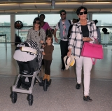 The Kardashians Prepare to Leave London 43858