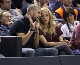 Shakira and Gerard Pique Watch a Game in Spain 2 44041