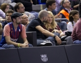 Shakira and Gerard Pique Watch a Game in Spain 2 44061