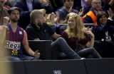 Shakira and Gerard Pique Watch a Game in Spain 2 44068