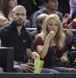 Shakira and Gerard Pique Watch a Game in Spain 44073
