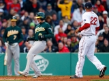 Oakland Athletics v Boston Red Sox 44100