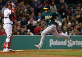 Oakland Athletics v Boston Red Sox 44164
