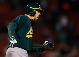 Oakland Athletics v Boston Red Sox 44185
