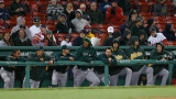Oakland Athletics v Boston Red Sox 44203