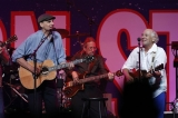 James Taylor, left, and Jimmy Buffett perform at the Boston Strong Concert. 44303