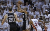 Parker and Duncan star as Spurs triumph over Miami Heat in Game 1 of NBA Finals 44451