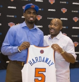 Tim Hardaway Jr. embraces joining Knicks with dad, who played and currently works for Heat 44762