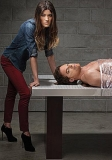 Michael C. Hall and Jennifer Carpenter on the beginning of the end 44822