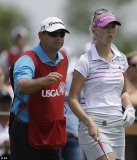 Golfer, 20, fires caddie in the MIDDLE of a round at U.S. Women's Open and then hires her boyfriend 44827