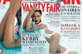Scandal' Star Kerry Washington Lands Vanity Fair Cover 44904