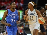 Kevin Durant gets engaged to WNBA's Monica Wright 44979