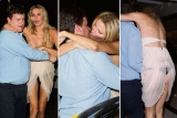 Real Housewives star Brandi Glanville gets drunk, flashes her boobs and falls over in public 45067