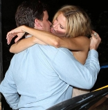 BRANDI Glanville suffered an epic wardrobe malfunction during a drunken night out yesterday. 45068