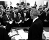 50 Years of Tough Questions and 'Thank You, Mr. President' 45343