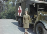 Hrh Princess Elizabeth in the Auxiliary Territorial Service, April 1945 45369
