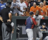 David Ortiz smashes phone in Red Sox dugout after striking out against Oriole 45468
