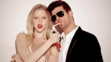 Robin Thicke can credit 'Blurred Lines' success to fans, sexy music video and 'kinda rapey' controversy 45558