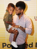 Usher's ex-wife seeking custody of their 5-year-old after freak swimming pool accident sends him to hospital 45811