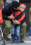 Usher's Son Hospitalized After Pool Accident 45812