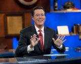 "Daft Punk, the French musical duo, did just that for their scheduled appearance on ""The Colbert Report"" on Tuesday. 45844"
