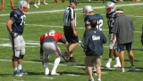 Tom Brady suffers left knee sprain 45992