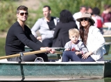 Paula Patton and Robin Thicke Enjoy a Family Day in New York City's Central Park With Son Julian 46535
