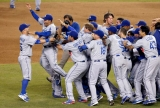 Watch as the Dodgers anger the Diamondbacks' by celebrating in their pool 46575