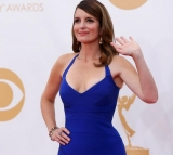 Tina Fey Wardrobe Nip Slip Emmys 2013: Star Suffers Wardrobe Malfunction 46638