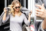 The Big Bang Theory babe Kaley Cuoco spotted wearing HUGE ring on her wedding finger 46822