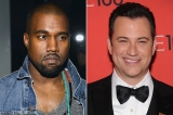Jimmy Kimmel Responds to Kanye West's Tweets: 'I'm in a Rap Feud' 46858