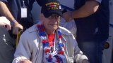 Greatest generation' veterans sweep past barricades at memorial in their honor 46968