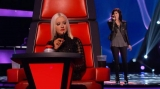 Kaley Cuoco cries as sister Briana Cuoco wows Christina Aguilera, Cee Lo Green on 'The Voice' 46985