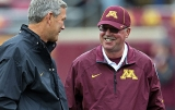 Minnesota coach Jerry Kill has seizure, misses Michigan game 47141