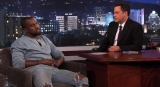 Kanye West, Jimmy Kimmel reconcile over 'rap feud:' Late-night host gifts rapper with jogging pants for North West 47236
