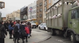 Sirens of the Lambs': Banksy fills slaughterhouse truck with toys 47305