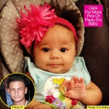 Pauly D: First Pic Of 'Jersey Shore' Star's Baby Daughter Revealed 47519