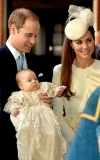 Inside Prince George's Christening: Royal Baby Acted Like a Little Angel and More Adorable Details 47552