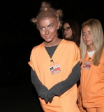 Julianne Hough dons blackface for 'Orange Is the New Black' Halloween costume 47715