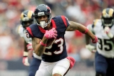 Arian Foster uncertain for game against Colts, Ben Tate benefits fantasy wise 47851